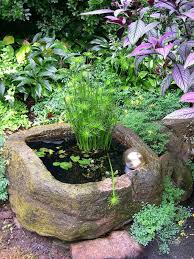 Garden Pond Ideas Mini Pond Ideas