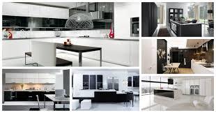 100 modern black and white kitchen designs contemporary