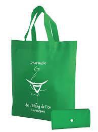 sac en toile personnalisable sacs pliables non tissé 80 grs disponible en 4 coloris