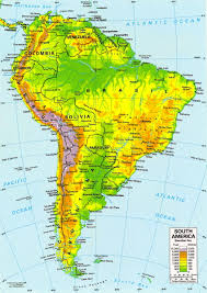 North America South America Map by Southern Tip Of South America Map Puerto Yartou Chile Mappery