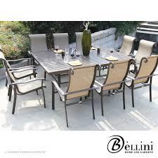 11 Piece Patio Dining Set - bali 5 piece corner sectional seating w771051 bellini