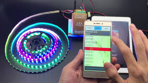 led strip lights wifi controller how to use led wifi dream color controller control ws2811 led strip