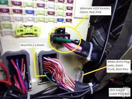 2011 hyundai sonata headlight wiring diagram hyundai wiring