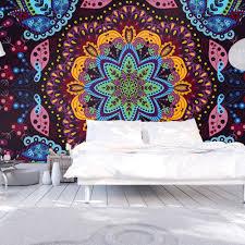 wall mural colorful kaleidoscope