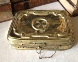 solid brass ls antique brass foot warmer etsy