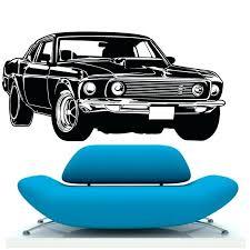 ford mustang home decor ford mustang home decor gt muscle racing car wall decal art vinyl