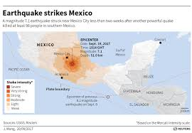 Mexico City On Map by Tempers Fray As Search For Survivors Winds Down After Mexico Quake