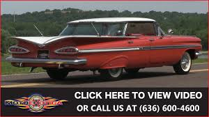 1959 chevrolet impala four door sold youtube