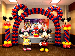 mickey mouse party decorations mickey and minnie baby shower theme indian birthday