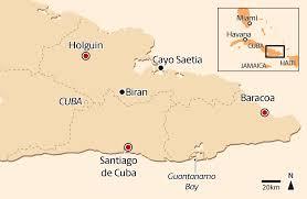 Cuba On A Map Looking For U0027omotenashi U0027 In Cuba U0027s Southeast The Japan Times