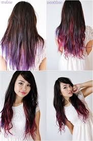 vpfashion ombre hair extensions beautiful girl lilac ombre hair style ombre hair style