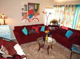 bohemian living room decor living room small bohemian living room decor with red laminated