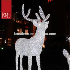 Christmas Reindeer Garden Decorations by Large Outdoor Christmas Reindeer Light Large Outdoor Christmas