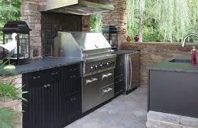 Outside Kitchen Cabinets Werever Hdpe Outdoor Cabinets Affordable Outdoor Kitchens