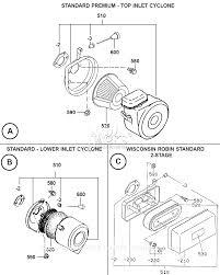 subaru engine diagram robin subaru eh34 parts diagram for air cleaner assembly