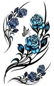 blue rose tattoo i want this rose to add to my tattoo garden with