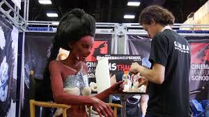makeup school san diego san diego comic con 2015 cinema make up school live demo