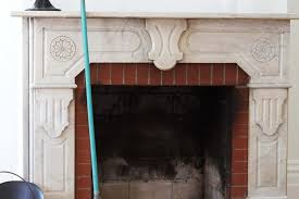 How To Clean Fireplace Chimney by How To Clean A Brick Fireplace With All Natural Cleaners