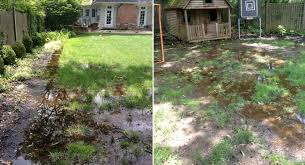 How To Regrade A Backyard Westfield Yard Drainage Driveway Drainage And Landscaping