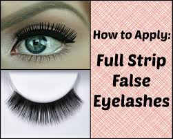 how to apply false eyelashes perfectly easy and quick makeup