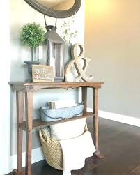 entry way table decor entry table mirror best rustic entryway table entryway table and