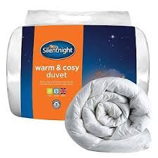13 5 Tog Duvets Silentnight Warm And Cosy 13 5 Tog Duvet Double White Ebay