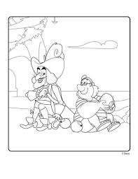 kids n fun com 9 coloring pages of jake and the never land pirates