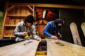 crafted backyard board building transworld snowboarding