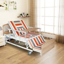 Hospital Armchairs Back Adjustable Patient Used Steel Manual Hospital Style Beds For
