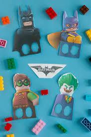 lego batman finger puppet printable takes