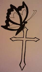 best cross tattoos for men 32 best cross and butterfly tattoos images on pinterest