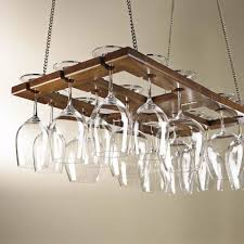 Hanging Pictures by Wine Enthusiast Foldable Hanging Stemware Rack 670 14 The Home Depot