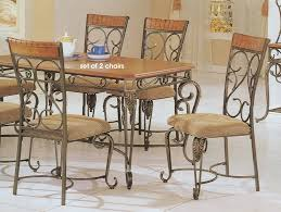 Wrought Iron Dining Table And Chairs Wrought Iron Dining Chairs Relaxing
