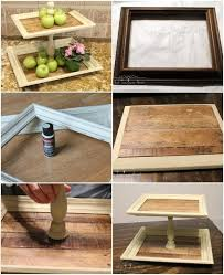 thrift store diy home decor handmade thrift store frame tiered trays 22 genius diy home