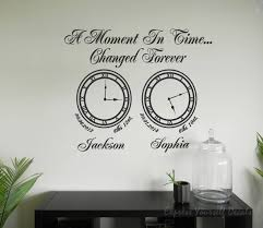 a moment in time clock wall art memory clocks wall art