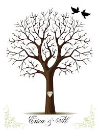 brown tree wedding tree template passionative co