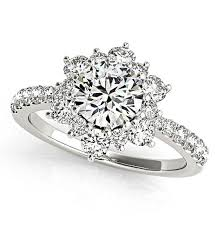 flower engagement rings flower diamond rings wedding promise diamond engagement rings