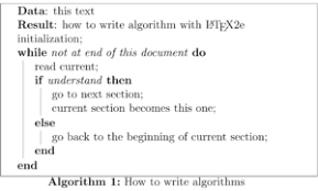 latex algorithms wikibooks open books for an open world