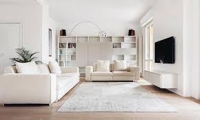 all white interior design home design