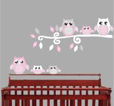 kitchen wall decoration for nursery intended for fresh pink owl kitchen wall decoration for nursery intended for fresh pink owl wall decals owl stickers owl