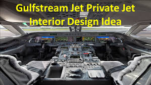 Private Jet Interiors Gulfstream Jet Private Jet Interior Design Idea Youtube