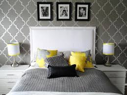 Blue Gray Bedroom by Entrancing 60 Yellow And Gray Bedroom Pictures Design Ideas Of