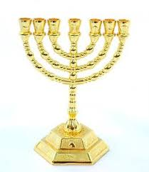 seven branch menorah seven branch gold colored menorah 12 tribes from holy land