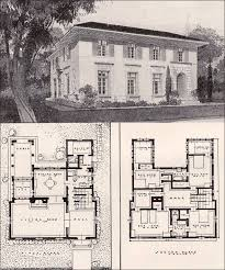 Spanish Colonial Architecture Floor Plans 205 Best Retro House Plans U0026 Designs Images On Pinterest Vintage
