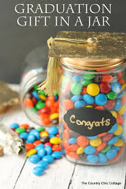 graduation gift for graduation gift in a jar the country chic cottage