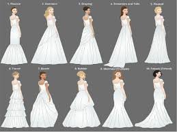 wedding dress type the best wedding gowns for your type