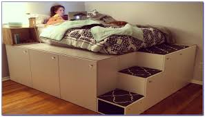 hasva g leans guest bed and ideas including ikea platform beds