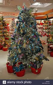 tree ornaments for sale at macy s department store in