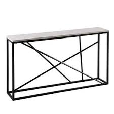 Black Console Table Modern Black Console Sofa Tables Allmodern
