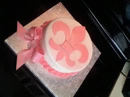 fleur de lis wedding cake fleur de lis baby shower cake cakecentral com